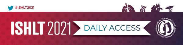 ISHLT2021 Daily Access