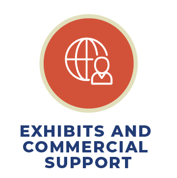Exhibits and Commercial Support